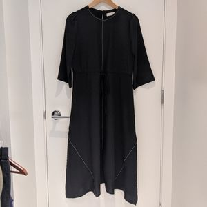OAK + FORT Black Maxi Dress - O/S